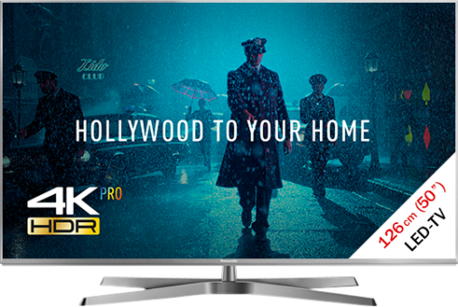 Panasonic TX-50EXW784 - LCD/LED TV - 50/126 cm - Argent