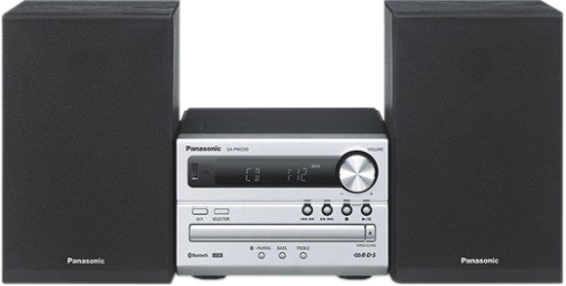 Panasonic SC-PM254 - Impianto compatto - Bluetooth - Argento
