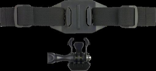kitvision Helmet Strap - Pour Caméras d'action - Noir