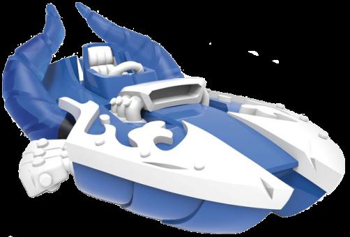 Skylanders SuperChargers Single Vehicle Power Blue Splatter Splasher