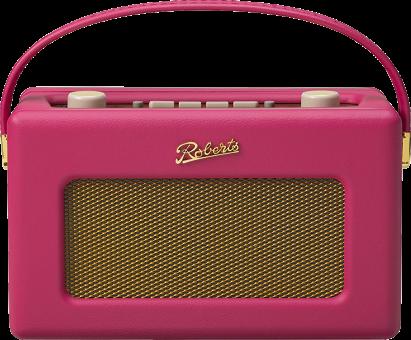 ROBERTS RADIO Revival RD60 - Radio DAB - 120 heures de vie de la batterie - Rose
