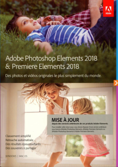 Adobe CDX PS Elements 18&premiere Elements 18 UPG /F Logiciel