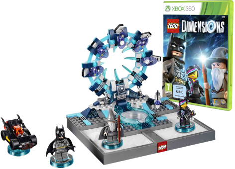 lego dimensions starter pack xbox 360 multilingue toys to life jeux xbox 360 acheter bas. Black Bedroom Furniture Sets. Home Design Ideas