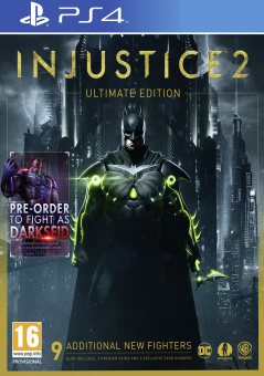 Injustice 2 - Ultimate Edition, PS4, Allemand/Français