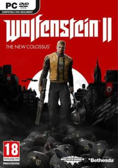 Bethesda CDR Wolfenstein 2 NEW Colossus /F Shooter