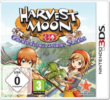 3DS - Harvest Moon Tale Of Towns /D