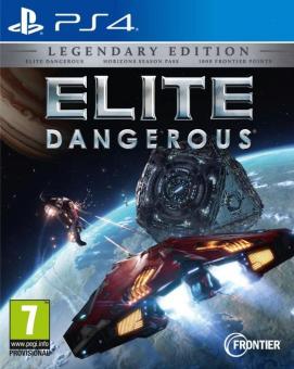 Elite : Dangerous - Legendary Edition, PS4, Version française [Versione francese]