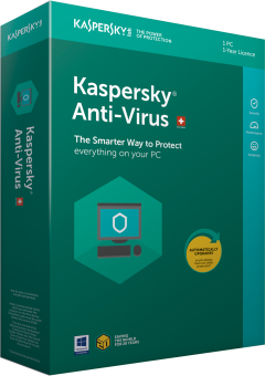 Kaspersky Cdx/and Anti Virus 18 /M