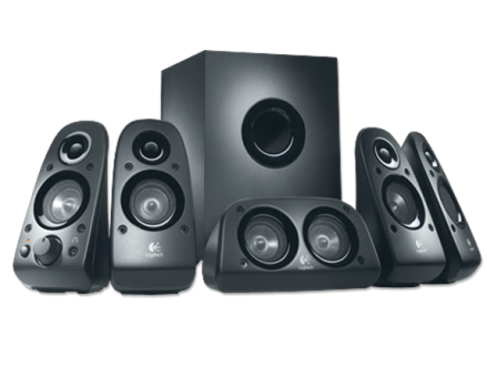 logitech surround sound speakers z506 g nstig kaufen pc lautsprecher media markt online shop. Black Bedroom Furniture Sets. Home Design Ideas