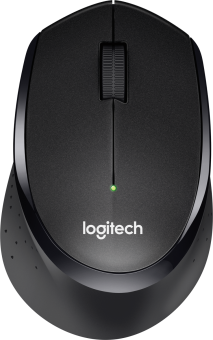 Logitech M330 SILENT PLUS - Maus - 1000 dpi - nero