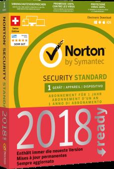 Symantec Norton Security 3.0 - 1 licence, Pc/mac, multilingue