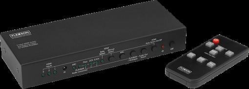flexson commutateur hdmi et convertisseur audio splitter distributeur hdmi acheter bas. Black Bedroom Furniture Sets. Home Design Ideas
