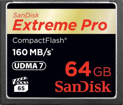 SanDisk Extreme Pro CompactFlash, 64 GB