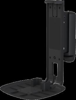 flexson wall mount wandhalterung f r sonos one single schwarz g nstig kaufen. Black Bedroom Furniture Sets. Home Design Ideas