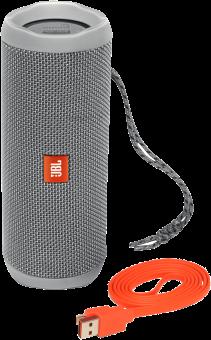 JBL Flip 4 - Enceinte Portable Waterproof - Bluetooth - Gris