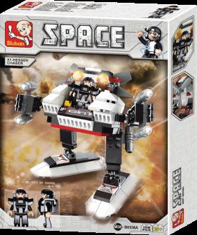 Sluban Bausteine Space Serie Raum 3-in-1 B