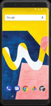 Wiko View Lite - Téléphone intelligent Android - Mémoire 16 Go - Double-SIM - anthracite