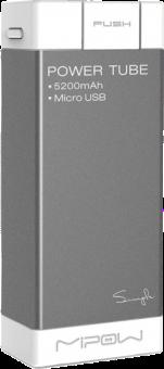 MIPOW Salt SP5200 - Powerbank - 5200 mAh - Gris