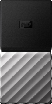 Western Digital My Passport SSD - Dischi rigidi esterni - 1 TB - Nero/Argento