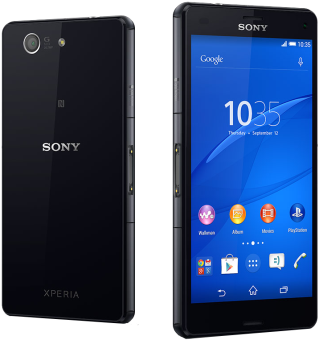 Sony Xperia Z3 Compact - Android Smartphone - 16 GB - Schwarz