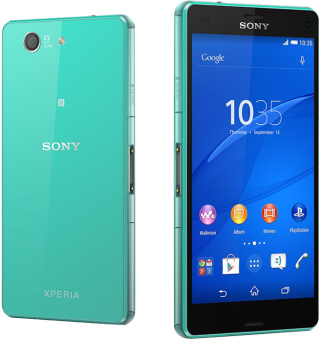 Sony Xperia Z3 Compact - Android Smartphone - 16 GB - Grün