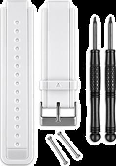 Garmin Cinturini di silicone - per vívoactive - Bianco