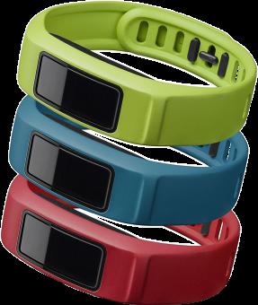 GARMIN Bracelets pour vívofit 2 - S - Vert/Rouge/Bleu