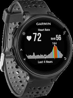 GARMIN FORERUNNER 235 - GPS-Laufuhr - Activity Tracker - Schwarz/Grau