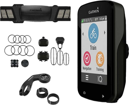 garmin edge 820 gps fahrrad computer bundle schwarz. Black Bedroom Furniture Sets. Home Design Ideas