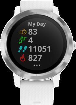 garmin v voactive 3 gps smartwatch mit integrierten. Black Bedroom Furniture Sets. Home Design Ideas
