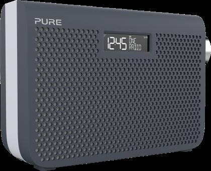 PURE One Midi Series 3s - Radio portable - DAB/DAB+/FM - Gris