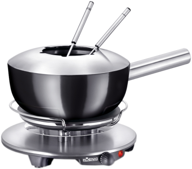 koenig set fondue all in one fondue lectrique. Black Bedroom Furniture Sets. Home Design Ideas