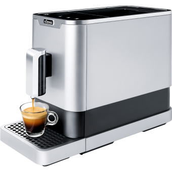 KOENIG Finessa - Kaffeevollautomat - 1470 Watt - Silber/Schwarz