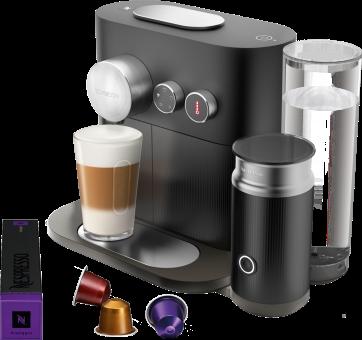 TURMIX TX 450 Expert & Milk - Kaffeekapsel-Maschine - Leistung 2090 Watt - Schwarz