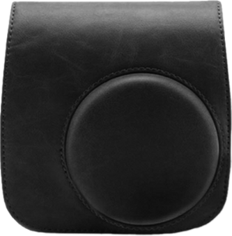 FUJIFILM Instax Mini 90 Leather Case - Cas en cuir pour Instax Mini Neo 90 - noir