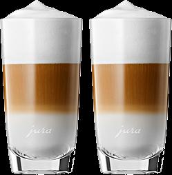 JURA  Verre à latte macchiato, 2 pièces