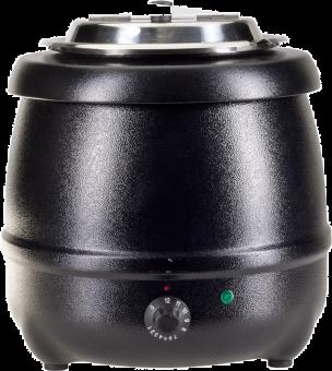 Nouvel Pentolone per minestre - 9 l - 400 W - Nero