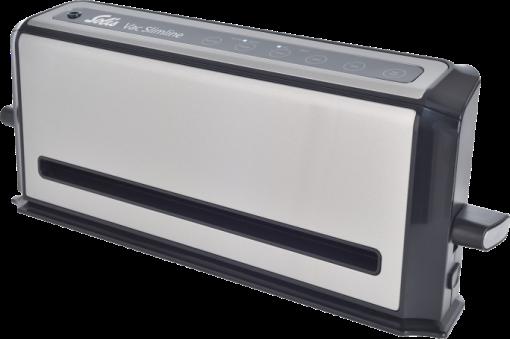 solis vac slimline 578 vakuumier system 110 w edelstahl schwarz g nstig kaufen. Black Bedroom Furniture Sets. Home Design Ideas
