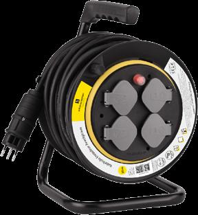 sch nenberger kabelrolle 25 m schwarz gelb g nstig kaufen kabelrollen boxen media. Black Bedroom Furniture Sets. Home Design Ideas