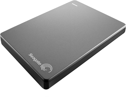 Seagate Backup Plus STDR1000201, 1 TB, silber