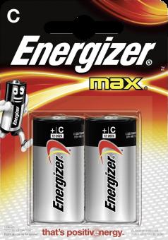 Energizer MAX - Pile C - 2 Pièce