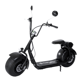 ridelec suv electro scooter 20 km h black matte. Black Bedroom Furniture Sets. Home Design Ideas
