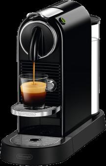 De-Longhi Citiz En167.b - Système de capsules Nespresso - Classe d'efficacité énergétique : A+ - Noir Machine à capsules Noir