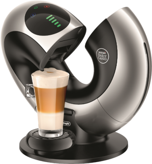 de 39 longhi nescaf dolce gusto eclipse macchina da caff con capsule 15 bar platinum silver. Black Bedroom Furniture Sets. Home Design Ideas