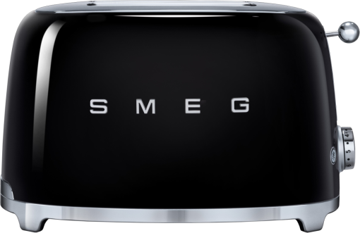 smeg 50 39 s retro style toaster 2 scheiben schwarz g nstig kaufen toaster media markt. Black Bedroom Furniture Sets. Home Design Ideas
