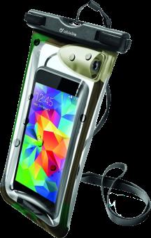 cellularline Voyager Music - Pour Smartphones jusqu'à 5.5 - Vert/Noir