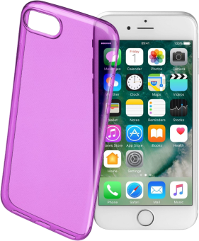 cellularline Color Case - Custodia - Per iPhone 7/8 - Viola