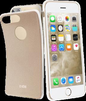 sbs Extra Slim Color - Für iPhone 8 Plus / 7 Plus - Gold