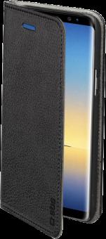 sbs Handyhülle im Buch-Style - Für Samsung Galaxy Note 8 - Schwarz