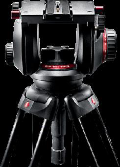 Manfrotto 509HD Pro Fluid - Stativkopf - Schwarz